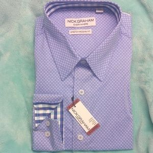 NWT Mens Nick Graham Long Sleeve Shirt